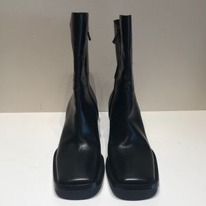 Vintage Costume National Italian Leather Blck Boot